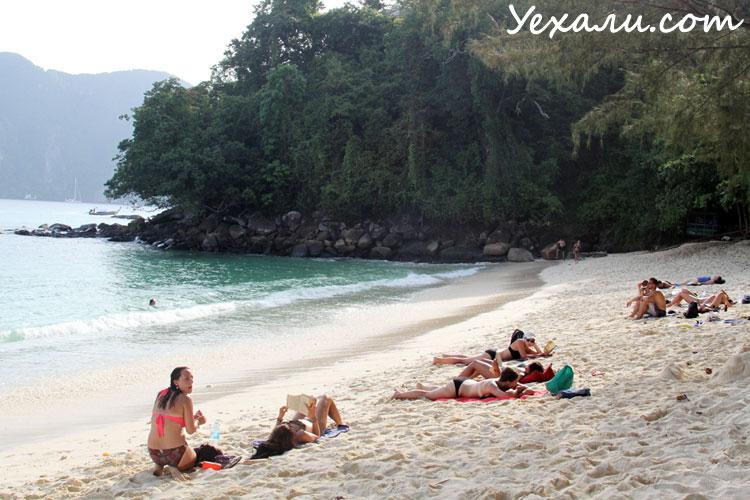 Пляж на Пхи-Пхи