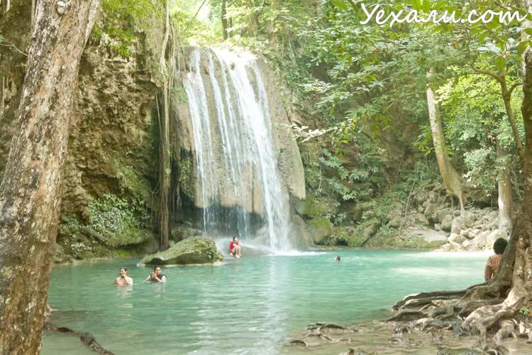 Водопад Эраван, Канчанабури, Таиланд.