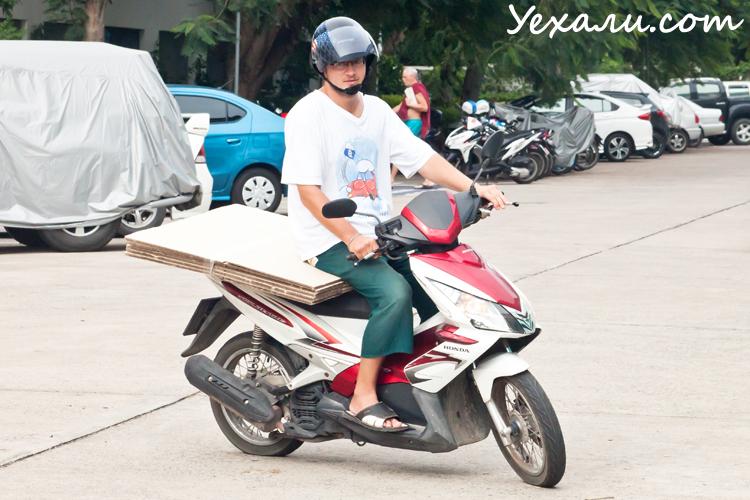 Сколько стоит жить в Тайланде: расходы на мотоцикл