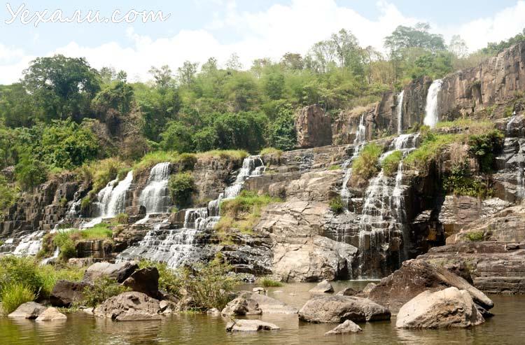 Водопады Далата: Понгур