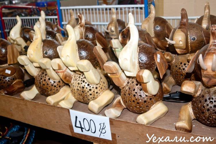 Где купить сувениры в Паттайе: магазин Лукдод.