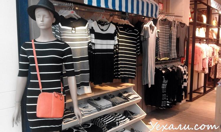 Интересные места в Паттайе, магазин одежды Outlet Mall