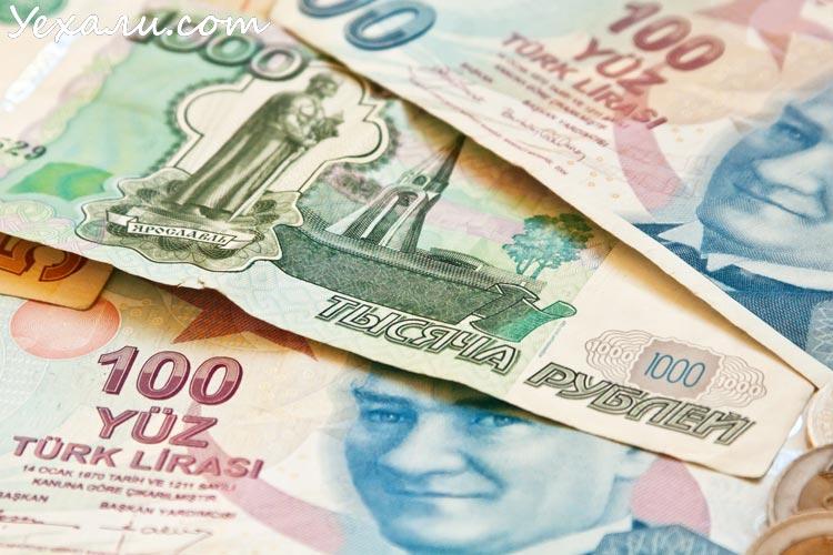 Курс турецкой лиры к рублю