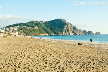 Отдых в Алании: пляж Клеопатры