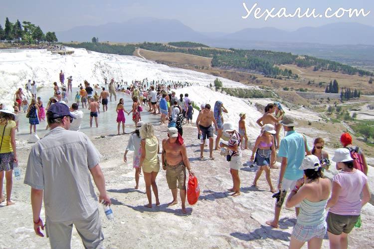 Отдых в Аланье: экскурсия в Памуккале, Турция.