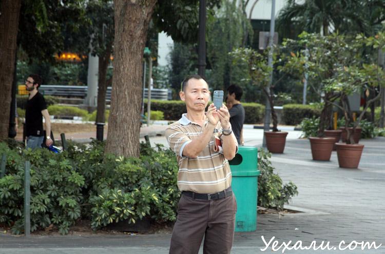 Фото людей в Сингапуре