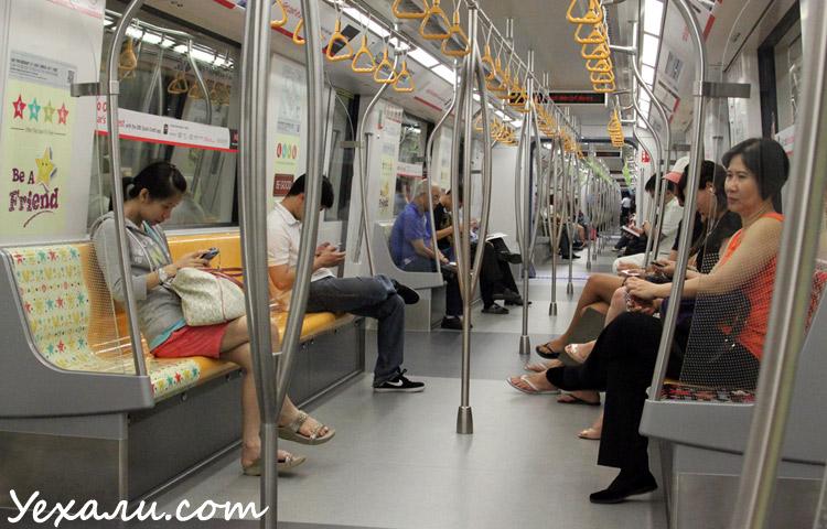 Фото метро в Сингапуре