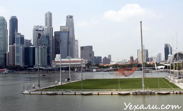 Фото небоскребов в Сингапуре
