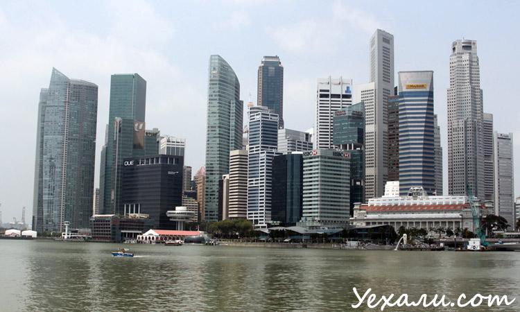 Фото небоскребов Сингапура