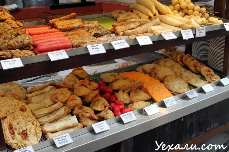 Фото еды в Сингапуре