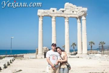 Турция, Сиде, храм Аполлона
