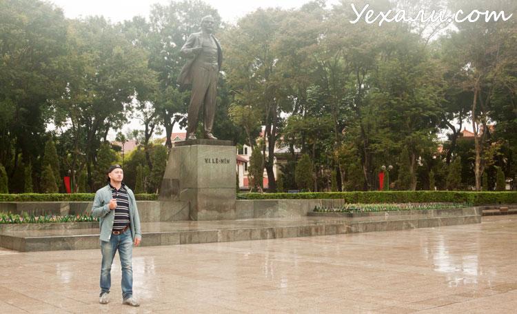 Карта Ханоя с достопримечательностями: парк имени Ленина