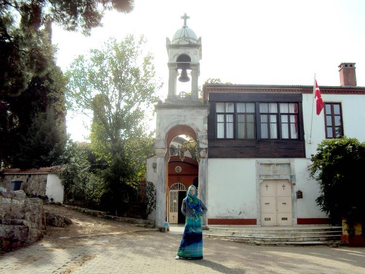Принцевы острова, достопримечательности: монастырь святого Георгия