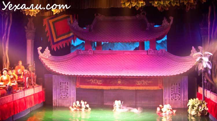 Карта Ханоя с достопримечательностями: Кукольный театр на воде