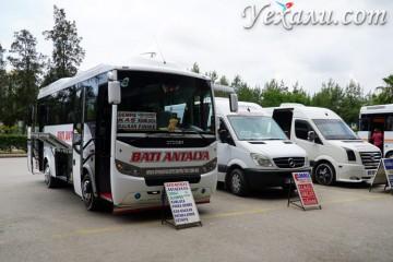 Как добраться из аэропорта Анталии в Кемер, Сиде, Белек и Аланию.
