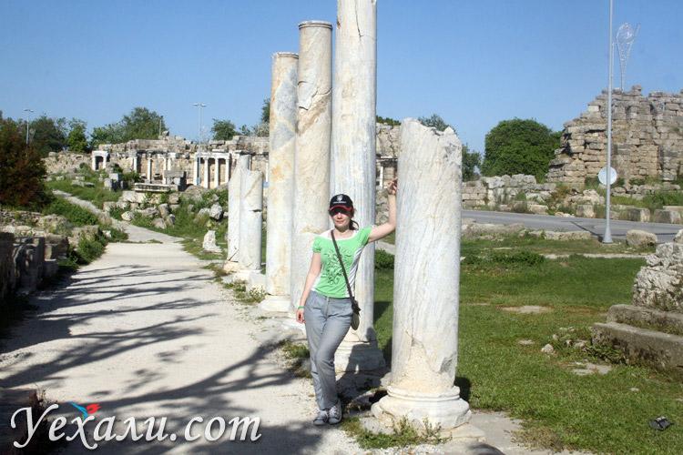 Древний город Сиде