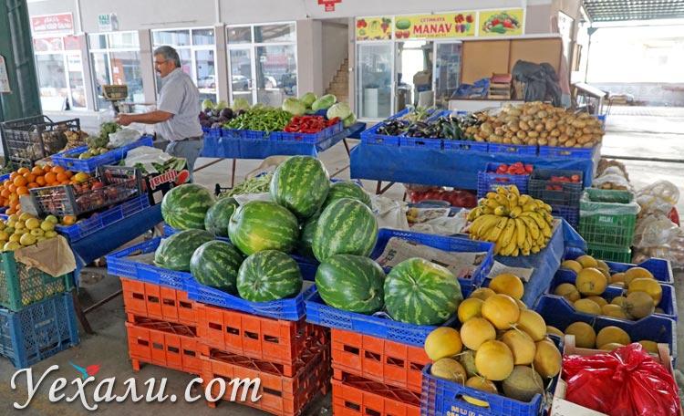 Нетуристическая Турция: рынок в Демре