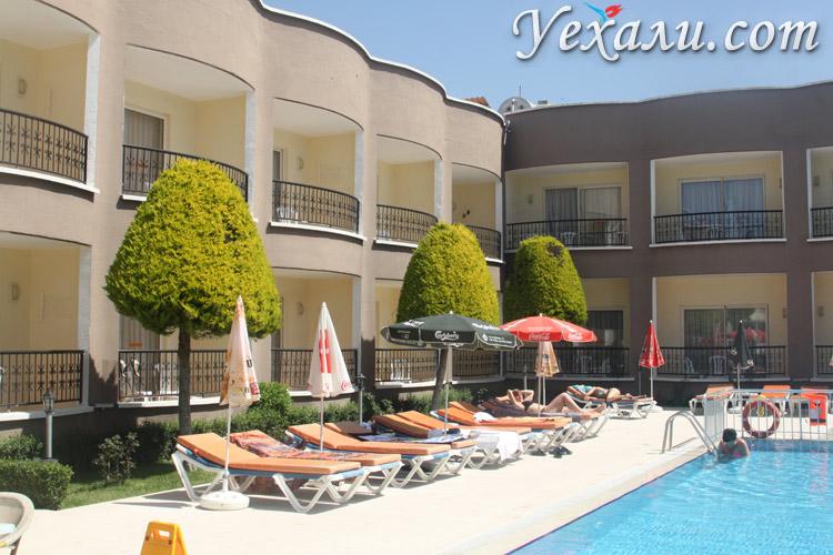 Корпуса в отеле Sayanora Hotel в Сиде