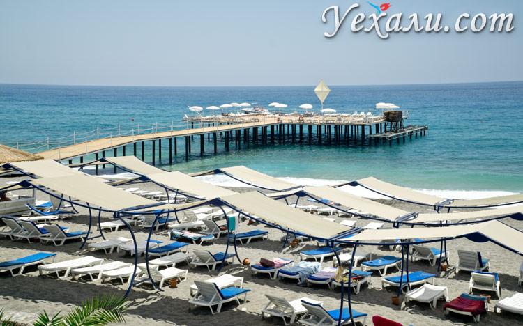 Махмутлар, Турция, пляж.