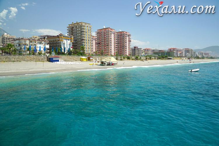 Пляж Махмутлара