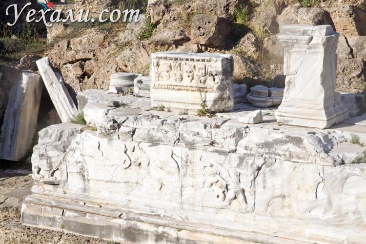 Достопримечательности Сиде: амфитеатр