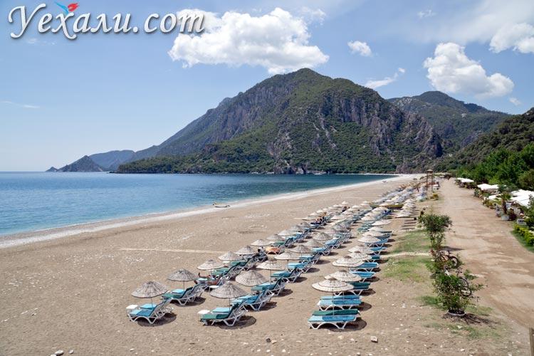 Турция, пляж Чиралы