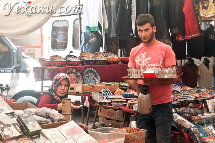 Рынки Махмутлара.