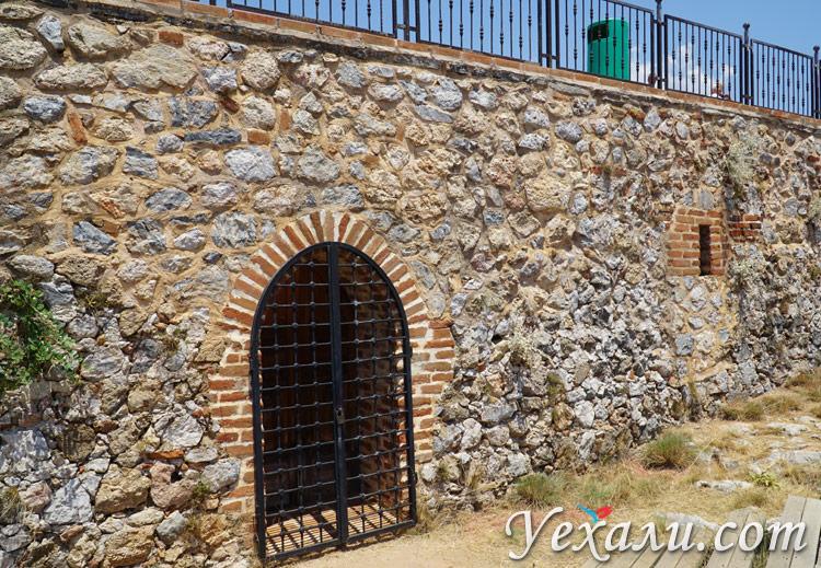 Внутри Крепости Алании