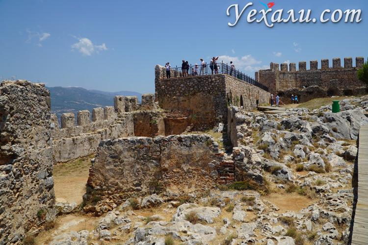 Смотровая площадка в крепости Алании