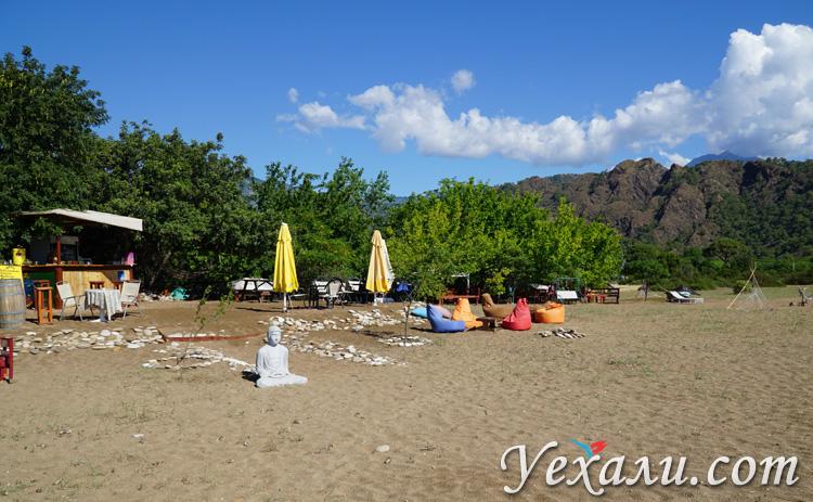 Пляж в Чиралы Турция фото