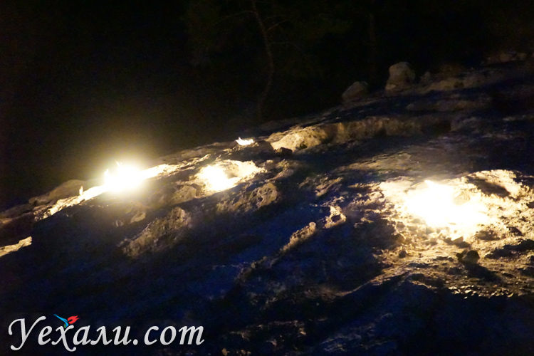 Огни Химеры фото ночью