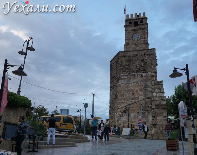 Часовая башня в Калеичи