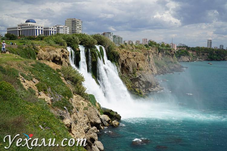 Водопады Антальи, водопад Нижний Дюден фото