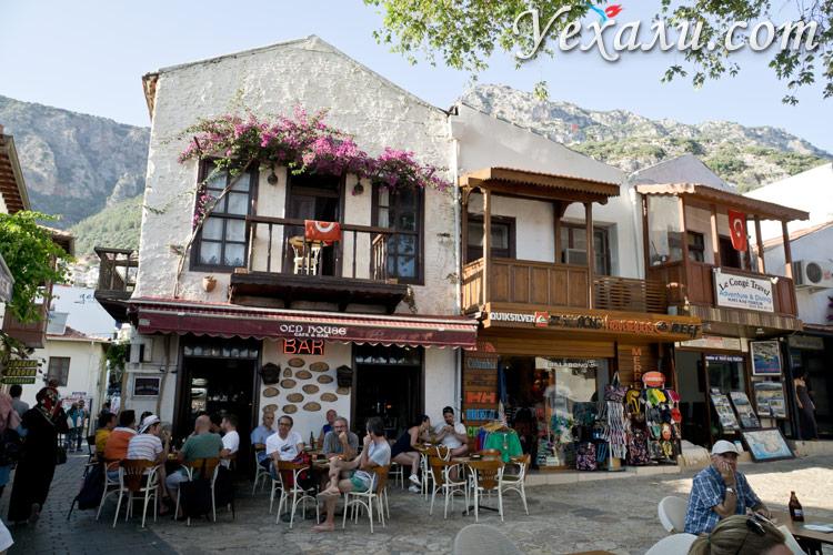Город Каш в Турции: фото