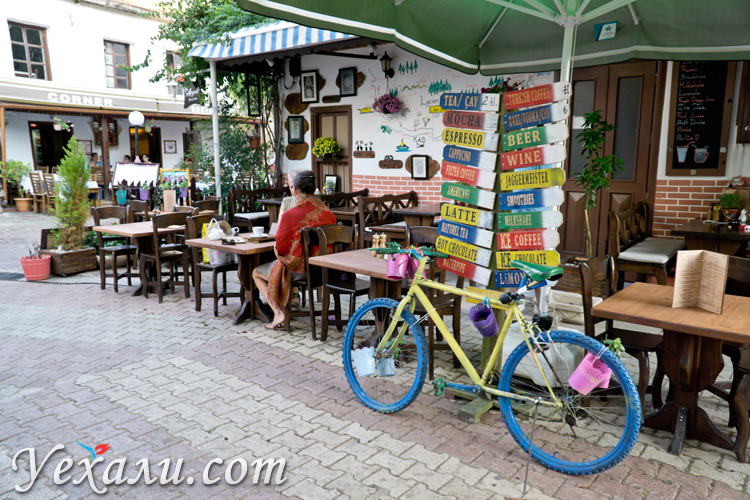 Фото города Каш в Турции.