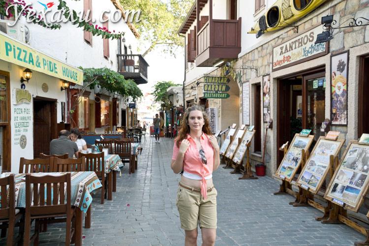 Фото города Каш, Турция.