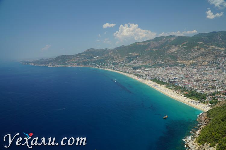 Лучшие пляжи Турции на Средиземном море