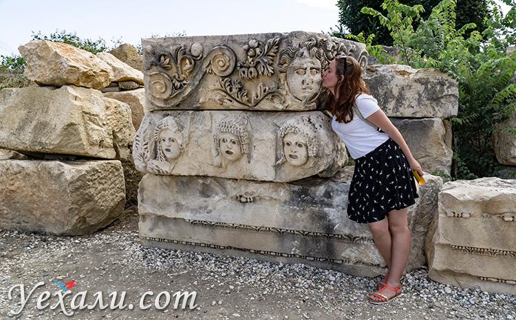 Древний город Демре Мира в Турции.