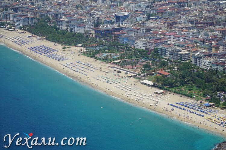 Лучший пляж Алании