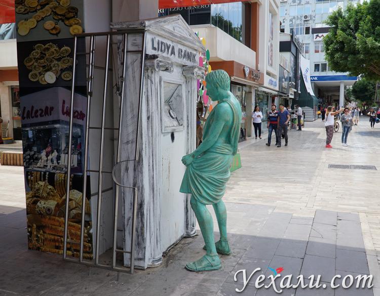 Статуи в Анталии