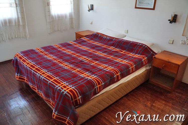 Спальня в апарт-отеле