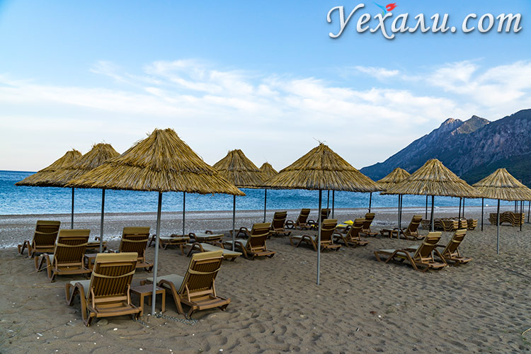 Лучшие пляжи Турции на Средиземном море: пляж Чиралы