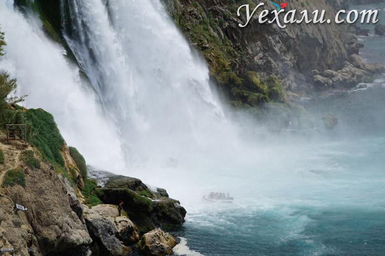 Водопад Нижний Дюден