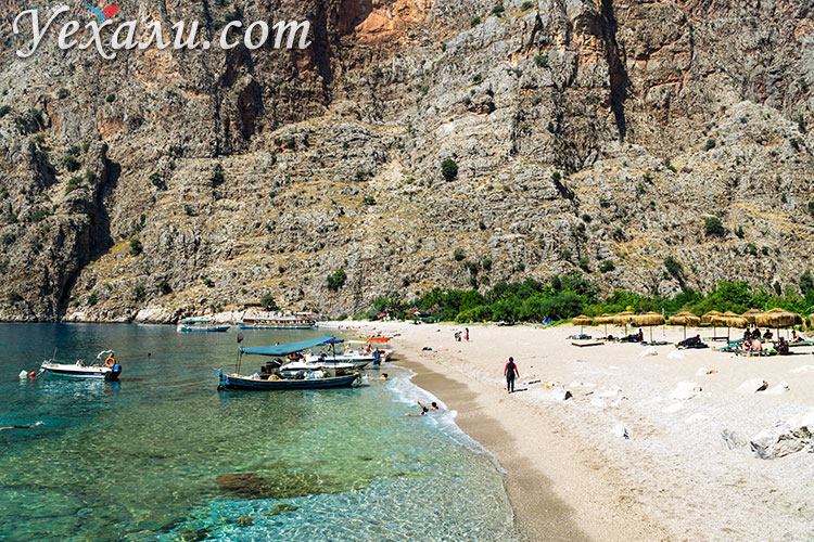 Пляжи Олюдениза (Турция): Долина Бабочек, Фетхие.