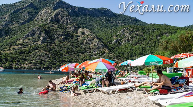 Лучшие пляжи Олюдениза: Голубая Лагуна.