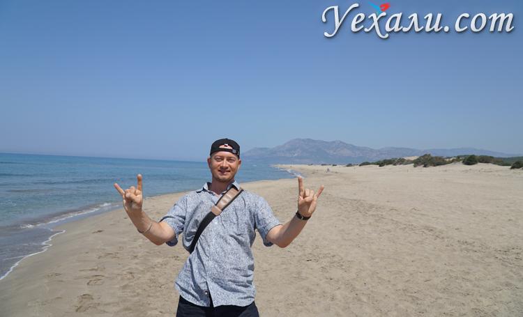 Пляж Патара море