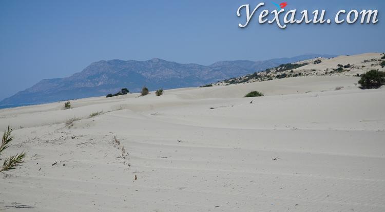 Дюны на пляже Патара