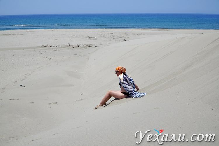 Катание с дюн в пустыне