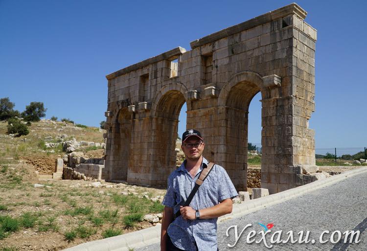 Древний город Патара