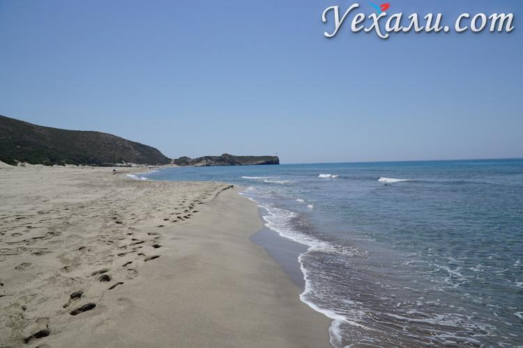 Море на пляже